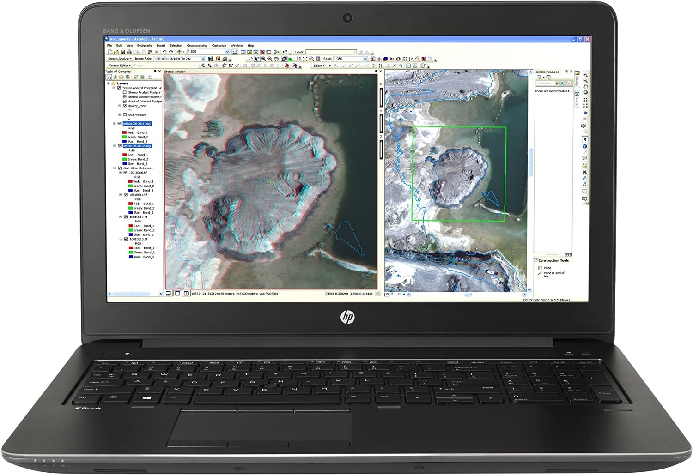HP Zbook 15 G3 Workstation 15.6in Notebook, Windows, Intel Core i7 2.6 GHz, 16 GB RAM, 512 GB SSD , Space Silver (X9V54UT#ABA) (Renewed)