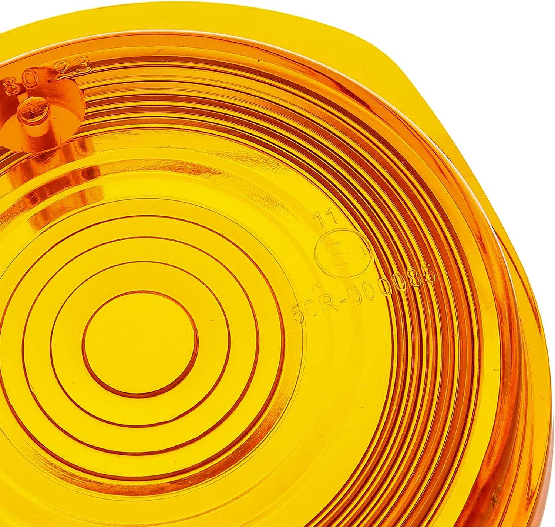 Mza Flügel Blinkerkappe Vorn Rund Orange Inkl Gummidichtring Schrauben Simson S50 S51 S70 Sr50 Sr80 Mz Etz Ts Auto