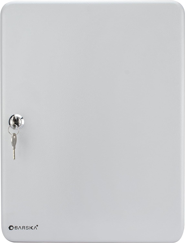 BARSKA 160 Position Key Lock Box with Key Lock Grey