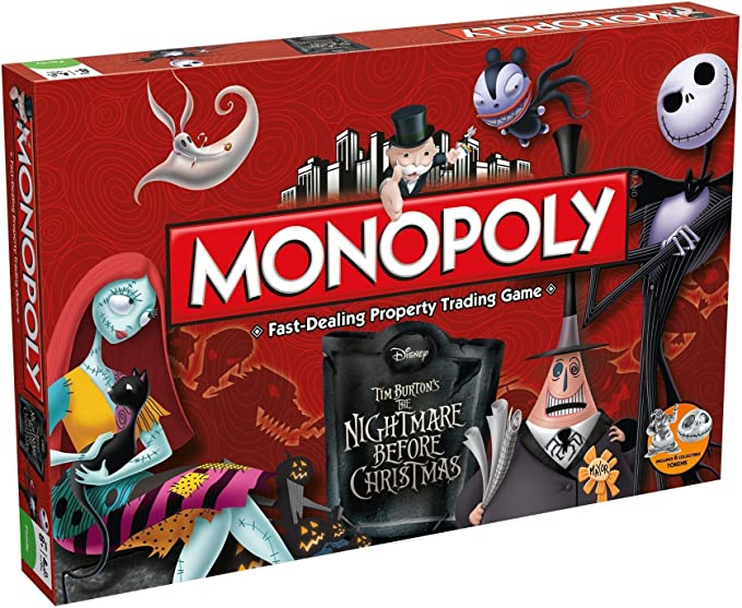 Monopoly The Nightmare Before Christmas - Inglés: Amazon.es: Juguetes y juegos