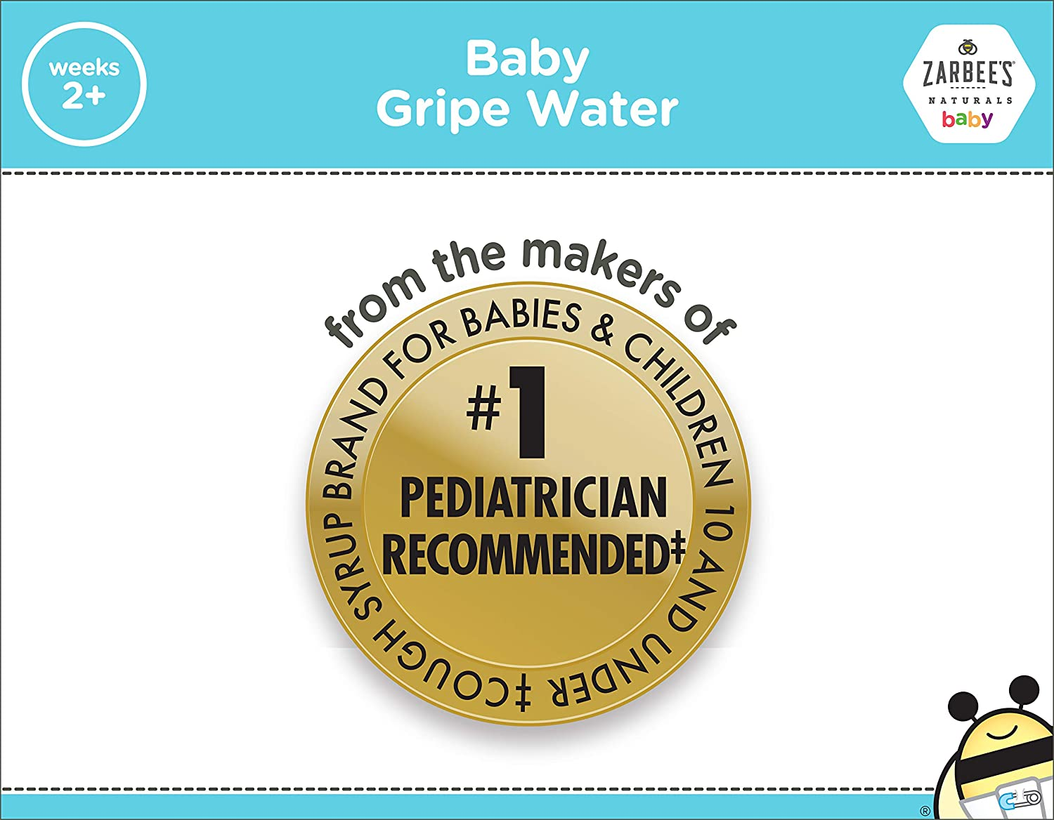 Zarbee S Naturals Baby Gripe Water Clinically Supported