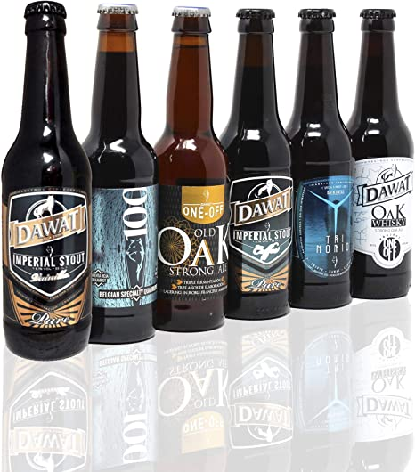PACK STRONG BEERS BY DAWAT. NIVEL EXPERTO. 8,1-11,1% ALC.