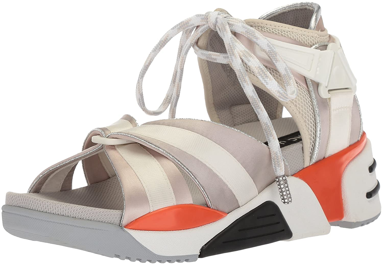 Marc Jacobs Women's Somewhere Sport Sandal B075Y6394G 37 M EU (7 US)|Off White/Multi