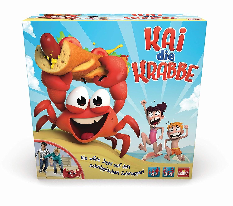 Goliath Toys 31019 Kai die Krabbe Spielzeug, Mehrfarbig Goliath B.V