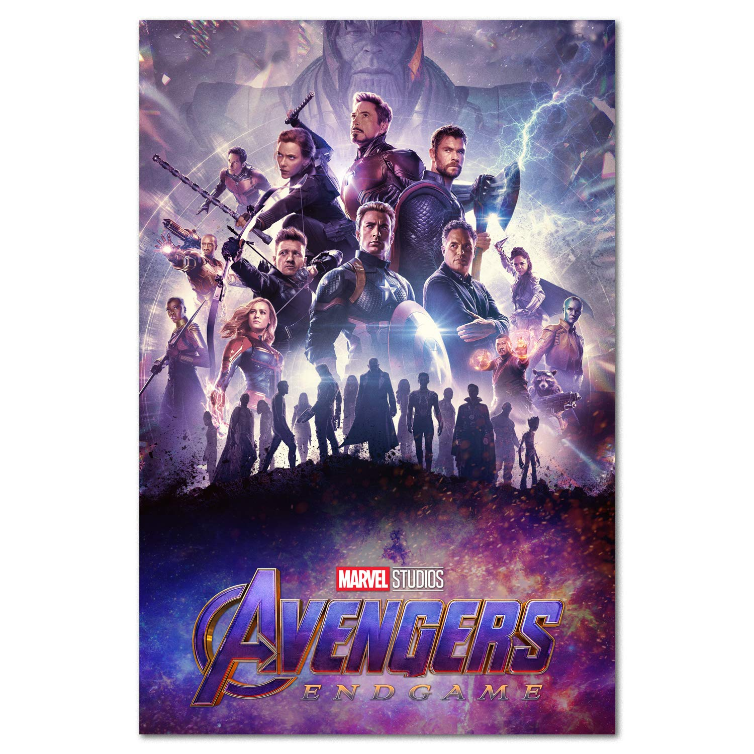 Avengers Endgame Poster - International Art - 2019 Marvel Movie (24x36)