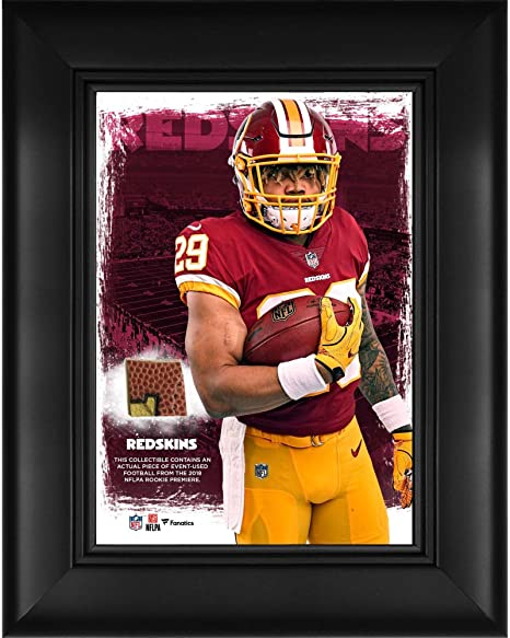 low priced ac41a 8a619 Amazon.com: Derrius Guice Washington Redskins Framed 5