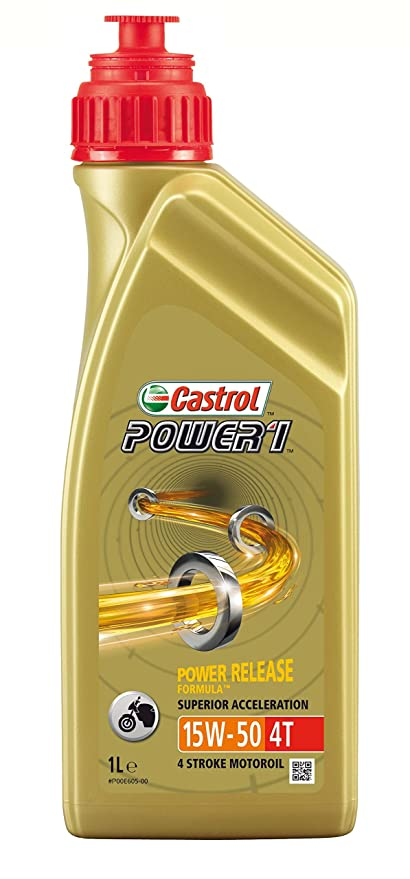Castrol 15044D - Aceite de Motores, 15W50 4T 1 Litro