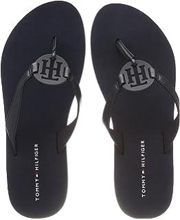 be51c69f5599 Tommy Hilfiger FW0FW02383 Flip Flops Women Blue 38  Amazon.co.uk ...