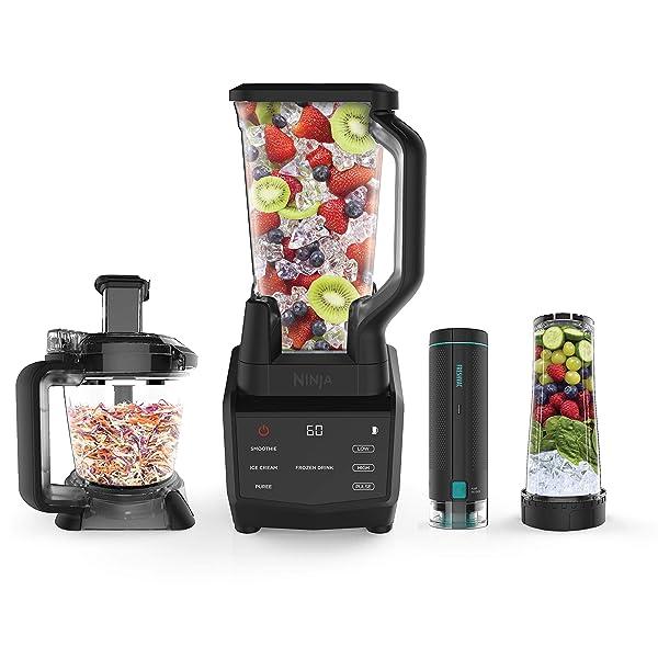 Ninja Smart Screen Blender and Food Processor with FreshVac Technology