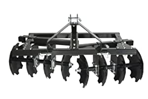 Impact Implements CAT-0 Category 0 Disc Plow/Harrow for Compact Tractors