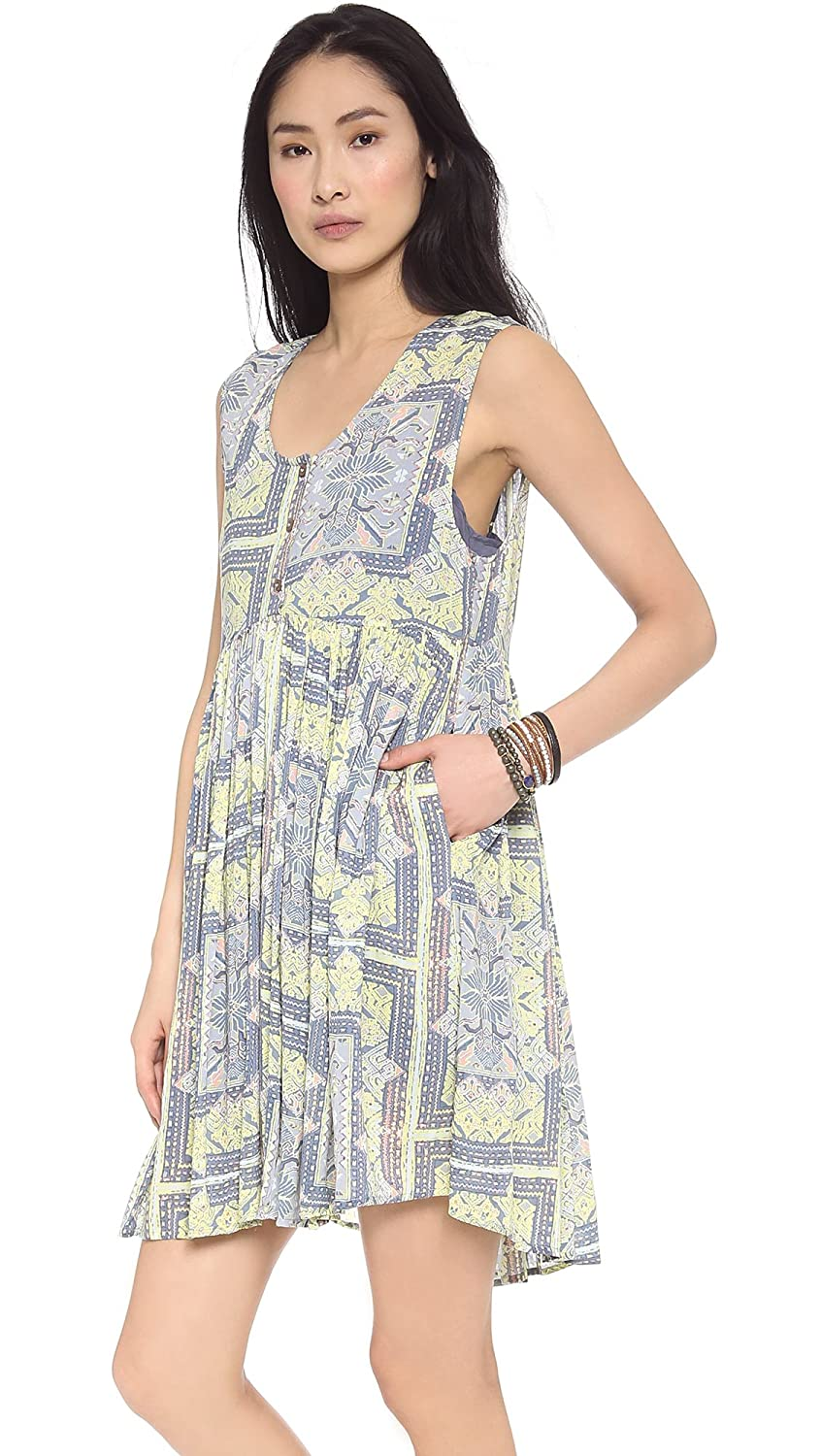Free People Womens Take Me to Thailand Dress, Fog Combo, X-Small at Amazon Womens Clothing store:
