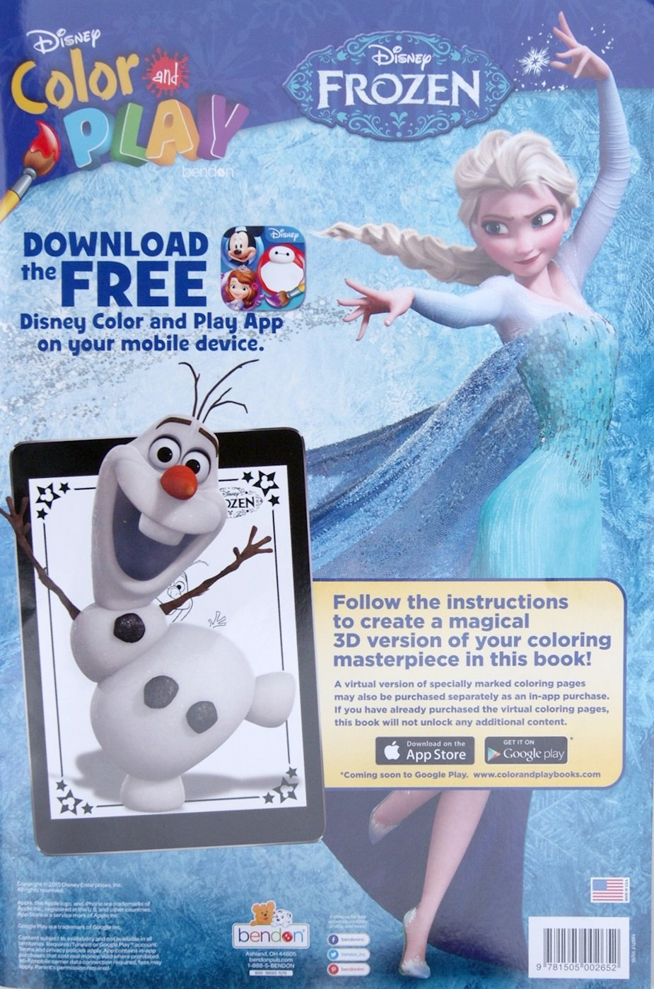 Amazon Disney Frozen Color And Play Super Activity Coloring Book Pad Toys Games