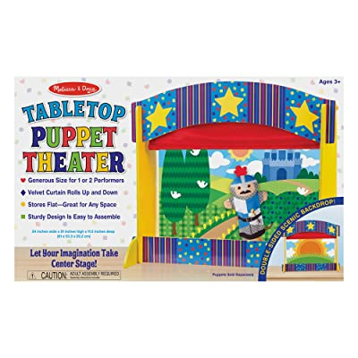 Melissa & Doug Tabletop Puppet Theater: Toys & Games