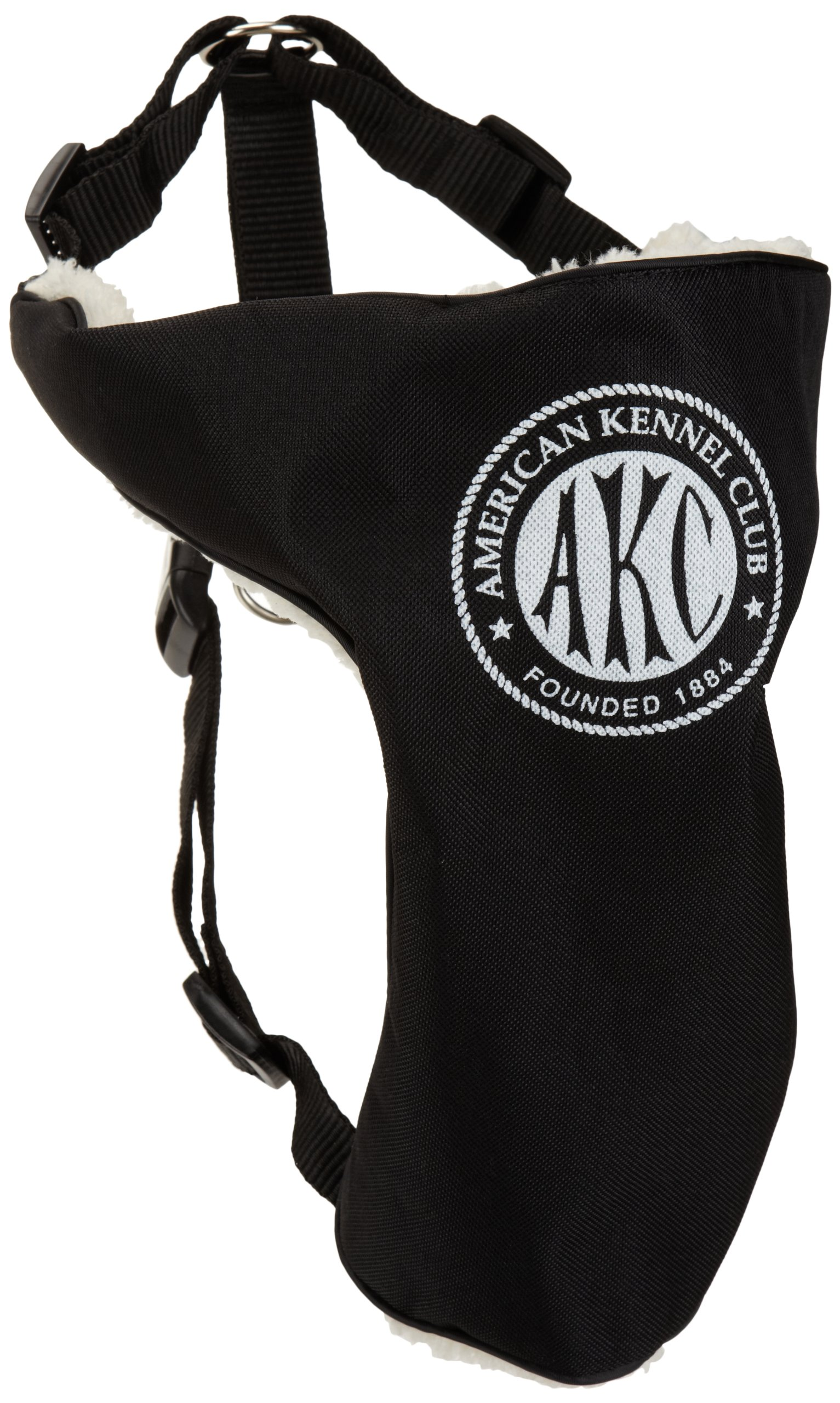 American Kennel Club 2-in-1 Seatbelt Harness, Large