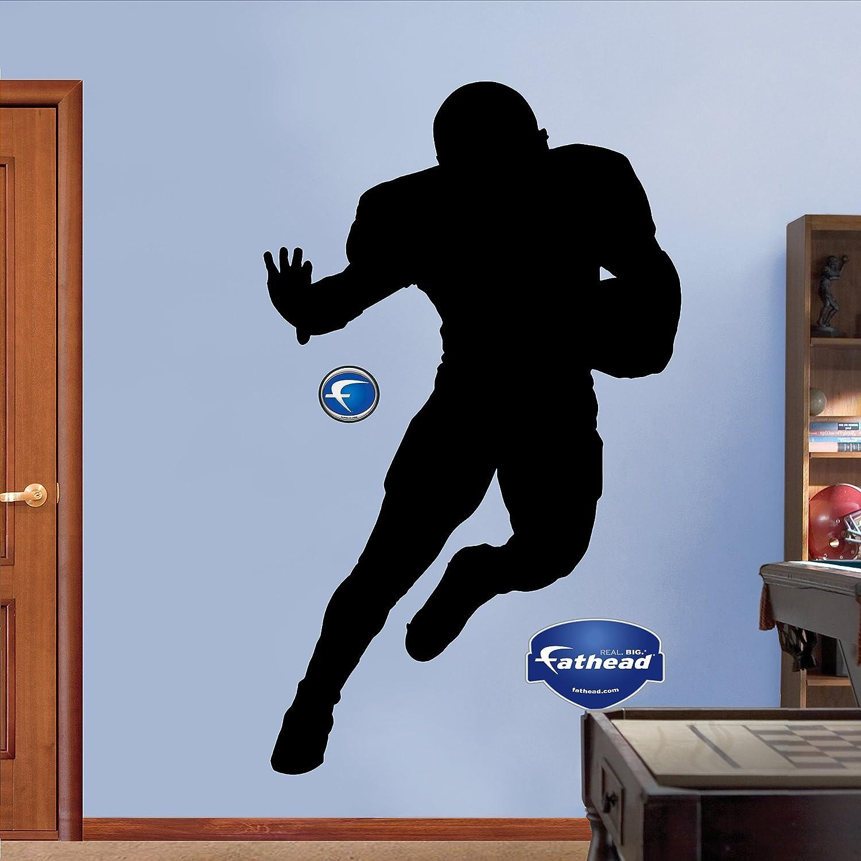 Nfl Fatheads Wall Stickers Amazon Com Fathead Football Player Silhouette  Graphic Wall Decor