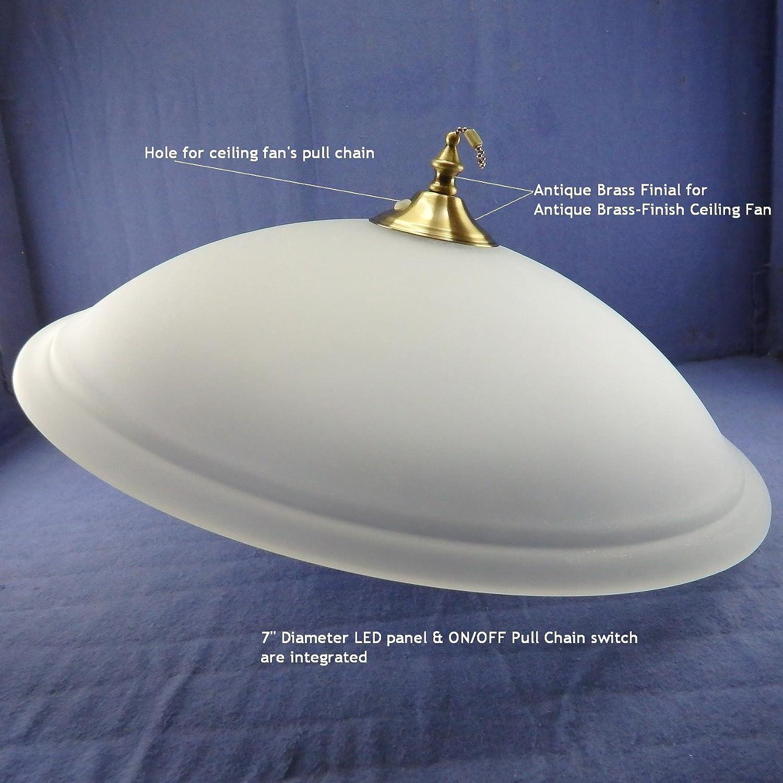 曇りガラスボウルW / LEDパネルキット – - 7