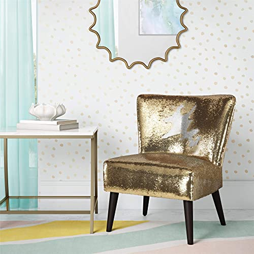 Novogratz Mazzy Accent chair, Gold