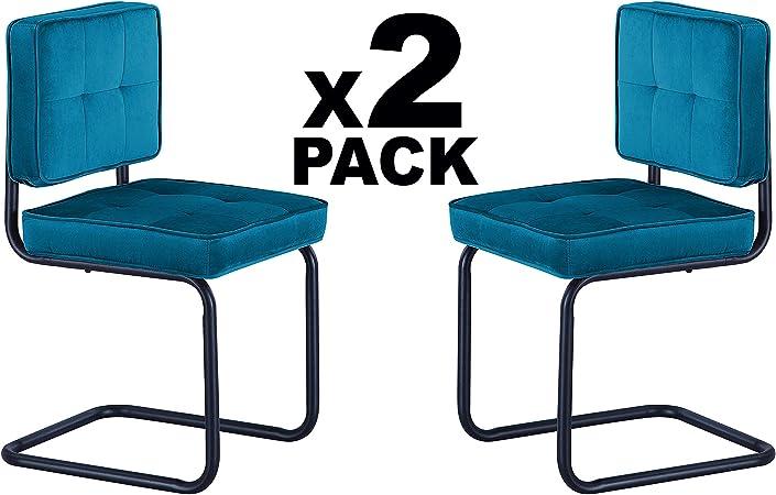Adec - Sinatra, Pack 2 sillas de Comedor, Cocina o Comedor, Silla ...