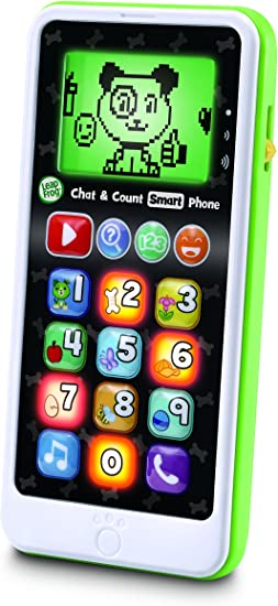 LeapFrog- Chat & Count Chat and Count Phone Scout Juguete de ...
