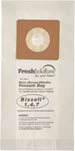 Bissell 70312 Bissell 1,4,7 Micro Filtration Vacuum Bags, Qty 3