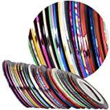 120 Rolls Nail Striping Tape Line Nail Art