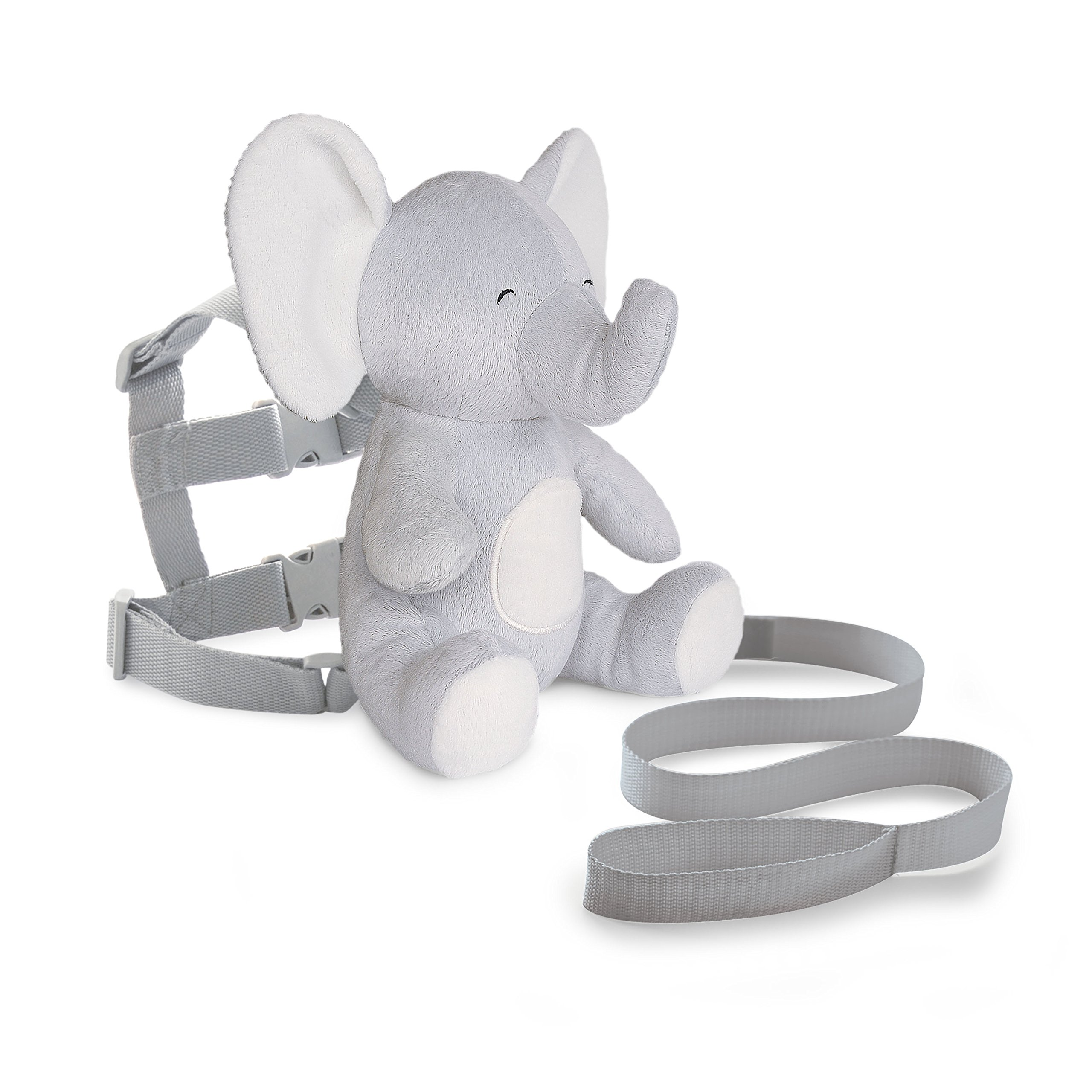 Carter's Toddler Safety Harness, Animal Elephant, Grey/White