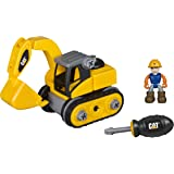 Toy State Caterpillar CAT Junior Operator Excavator Construction Vehicle