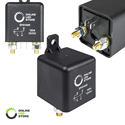 Tremendous Amazon Com Online Led Store 12V Dc 120 Amp Split Charge Relay Wiring Cloud Hisonuggs Outletorg