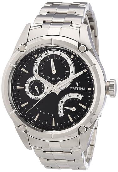 Festina F16669/3 - Reloj analógico de Cuarzo para Hombre con ...