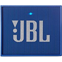 JBL Go - Altavoz Portátil para Smartphones, Tablets y Dispositivos MP3(3 W, Bluetooth, Recargable, AUX, 5 Horas), Color Azul