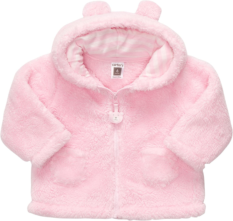 Carters Baby Girls Sherpa Jacket