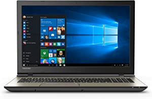 "Toshiba Satellite S55-C5138 15.6"" (1920x1080) Full HD Laptop: Core i7-6500U 2.5GHz 1TB 8GB DVD-RW 4K HDMI Output - Windows 10 64bit (Brushed Metal)"