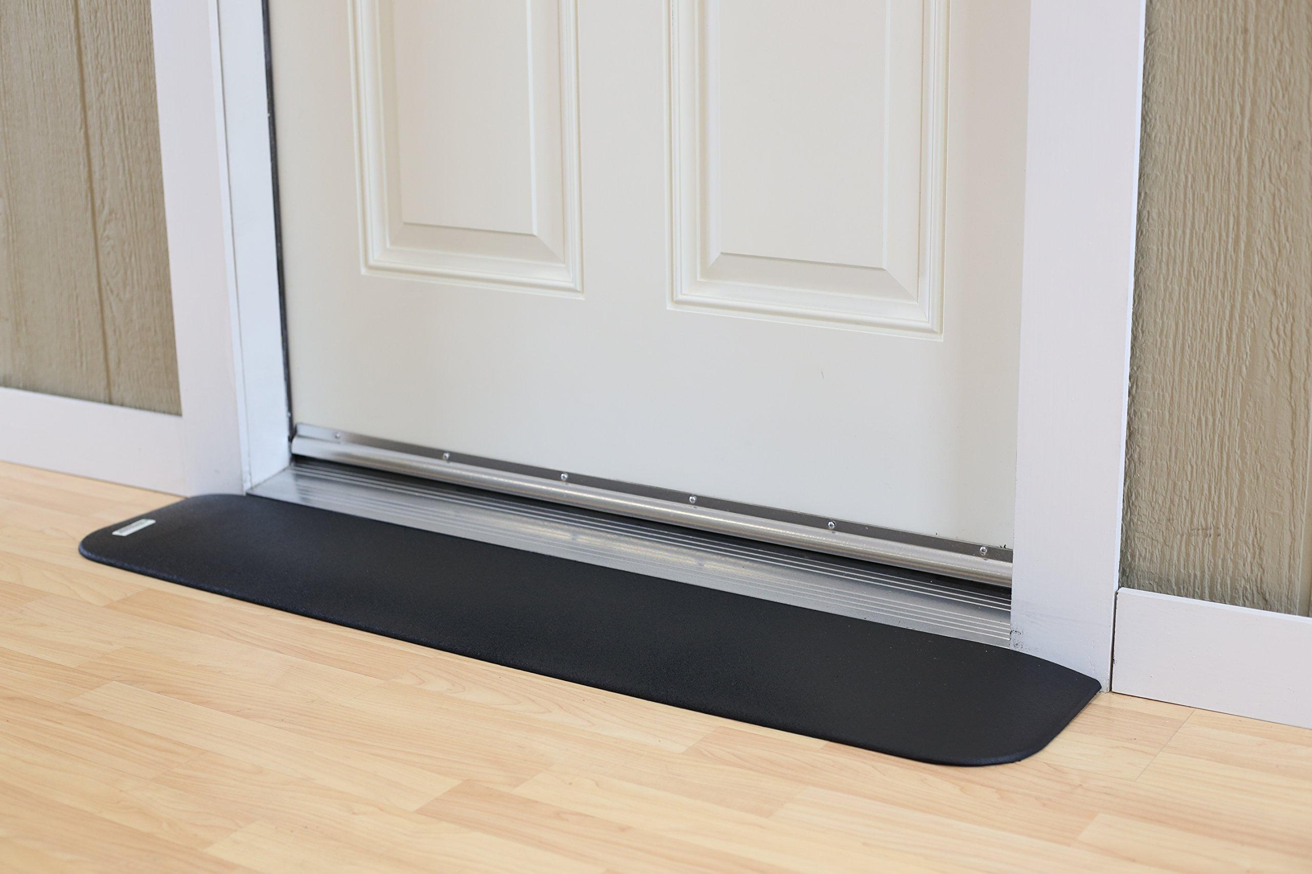 EZEdge Transition Threshold Ramp For a Door Sill, 7/8'' Rise, 7/8'' x 8'' x 41½'' by EZEdge