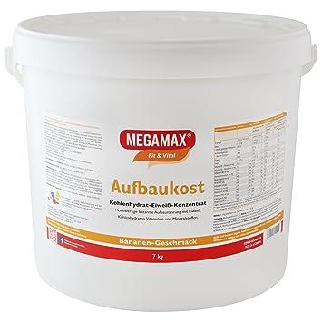 MEGAMAX - Aufbaukost - Suplemento para ganar peso y masa ...