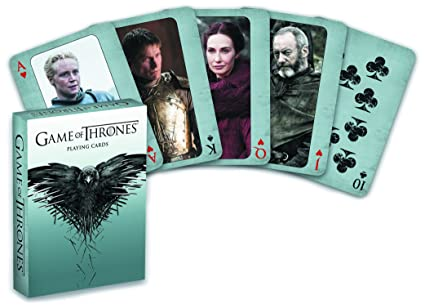 Amazon.com: Game Of Thrones Playing Cards (Second Edition ...