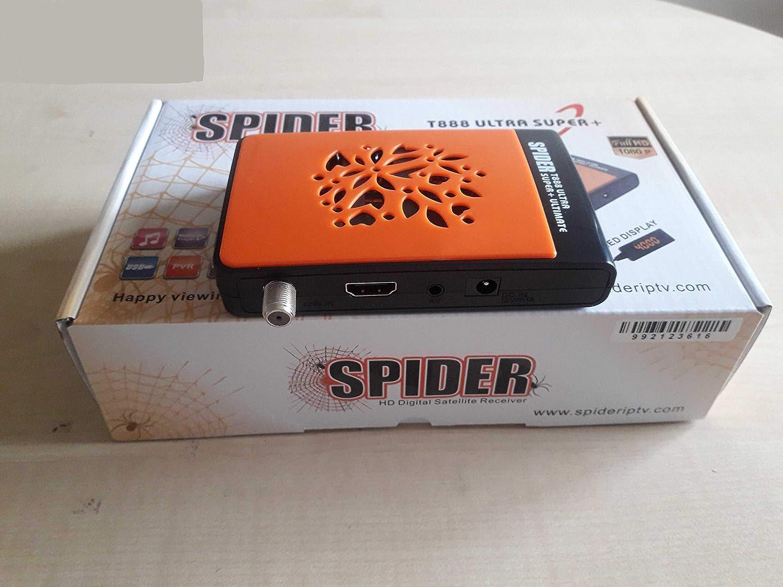 Spider T888 Ultimate Satellite Receiver H 265 + Arabic IPTV