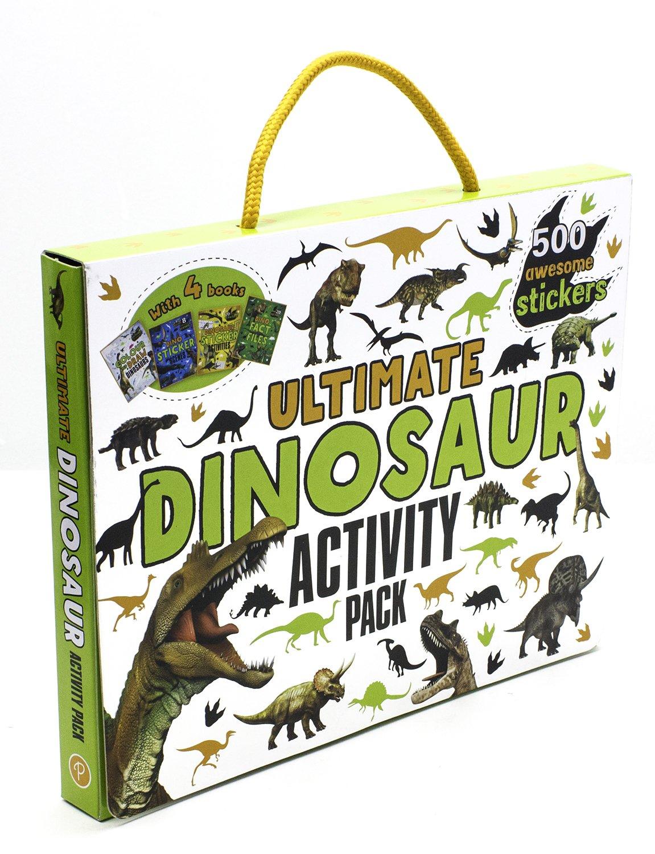 Ultimate Dinosaur Activity Pack: Amazon.es: Parragon Books: Libros en idiomas extranjeros