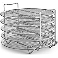 Goldlion Dehydrator Rack Stainless Steel Stand Accessories Compatible with Ninja Foodi Pressure Cooker and Air Fryer 6.5…
