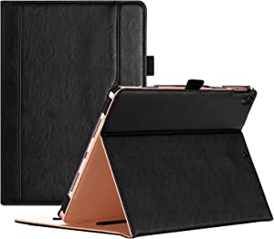 """ProCase iPad Air (3rd Gen) 10.5"""" Case 2019, Vintage Stand Folio Case Cover for Apple iPad Air (3rd Gen) 10.5"""" 2019 and iPad Pro 10.5 2017, Multiple Viewing Angles, with Apple Pencil Holder -Black"""