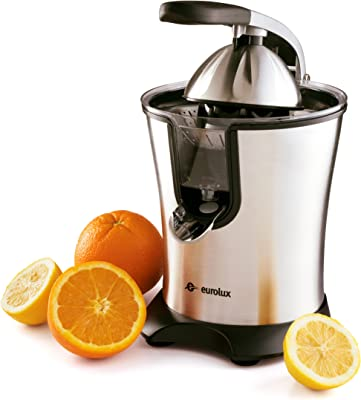 Eurolux Electric Orange Juicer Squeezer Stainless Steel