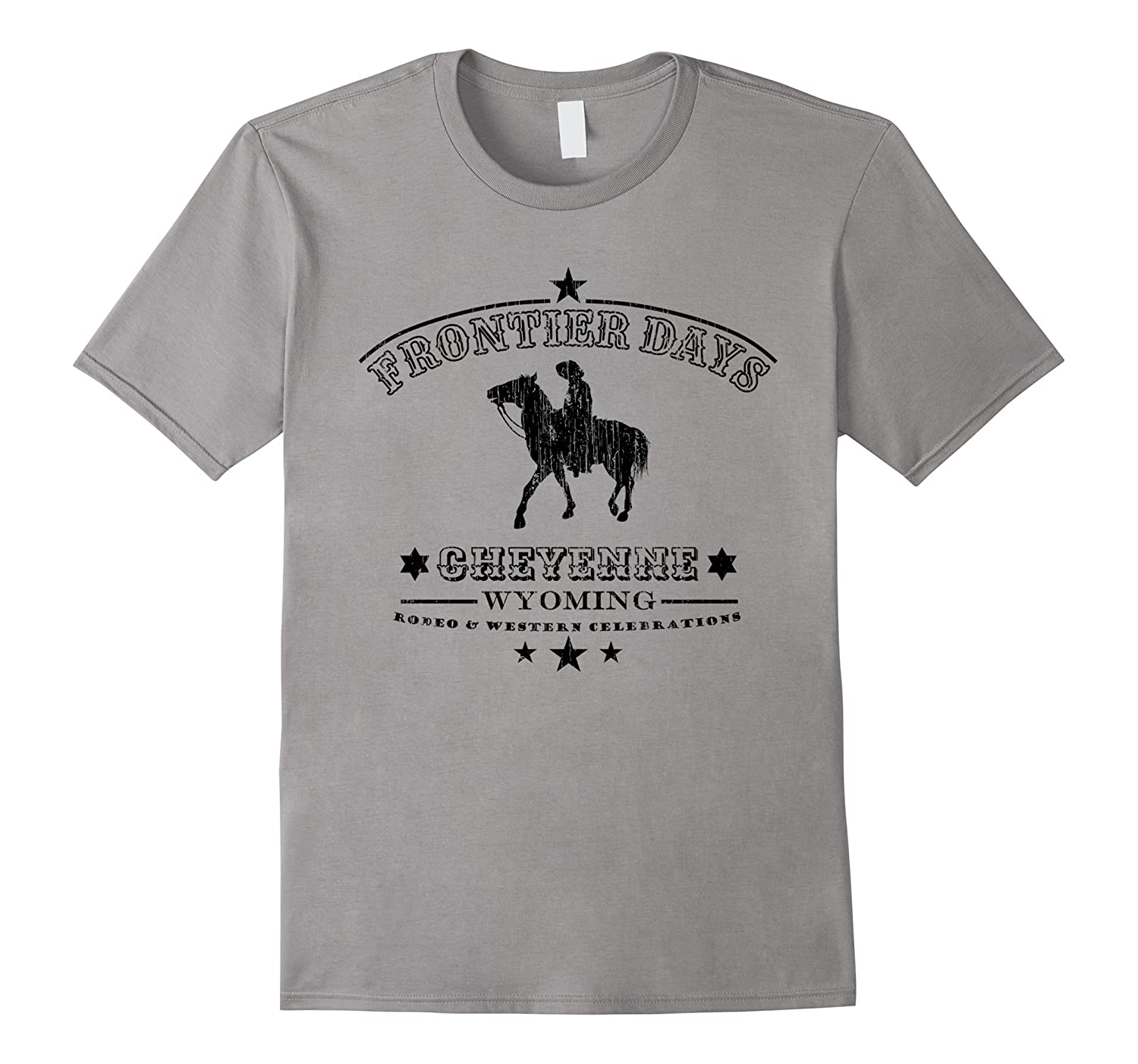 Frontier Days Rodeo Wild Western Cheyenne Wyoming T Shirt TH