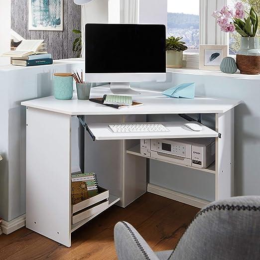 Finebuy Eckschreibtisch Regal Schreibtisch Computertisch Bürotisch Büro Sonoma