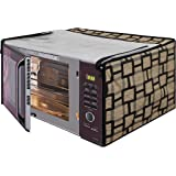 Glassiano Printed Microwave Oven Cover for IFB 20 L Convection Model (20SC2 Metallic Silver)