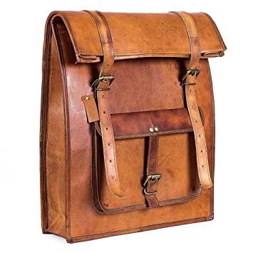 d02ff7d84945 Leather Classy Bags' Retro/Vintage Dapper Sailor Rucksack/Backpack ...