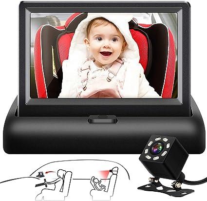 Shynerk Baby Car Seat Camera System - Advanced Design