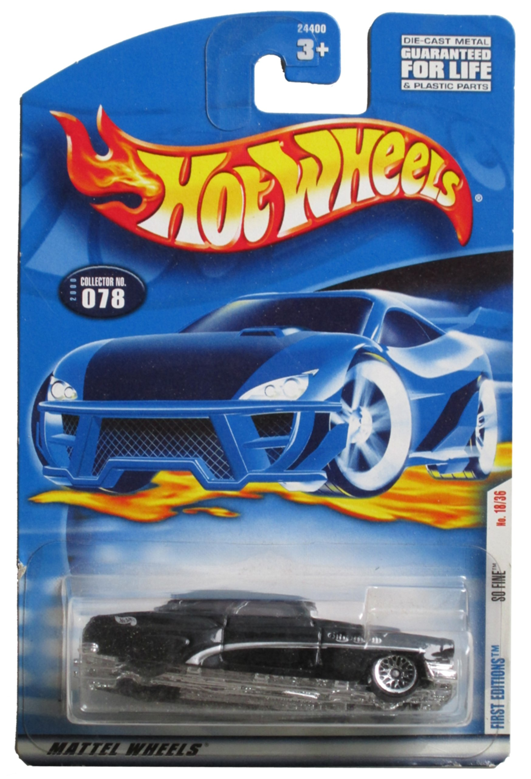 Hot Wheels 2000 First Editions #18: So Fine