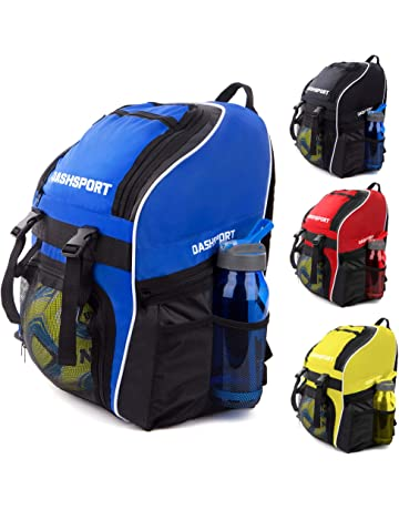 a1608eee3c Soccer Backpack - Basketball Backpack - Youth Kids Ages 6 and Up - with  Ball Compartment