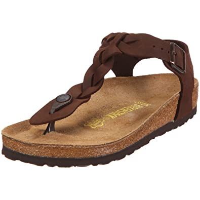 7d8be11bc77 Birkenstock Thong   Kairo   from Leather in Braided ...