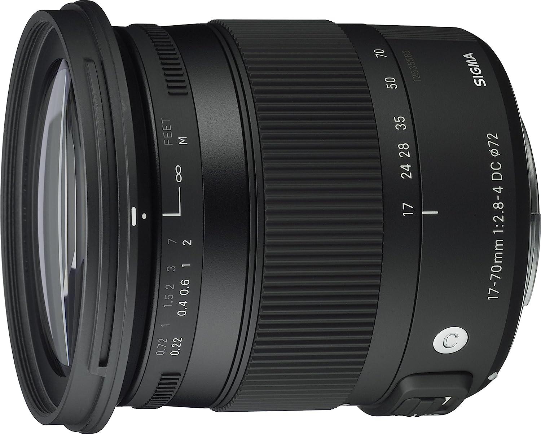 Sigma 17-70mm F2.8-4 DC MACRO OS HSM Contemporary, Montura Canon ...