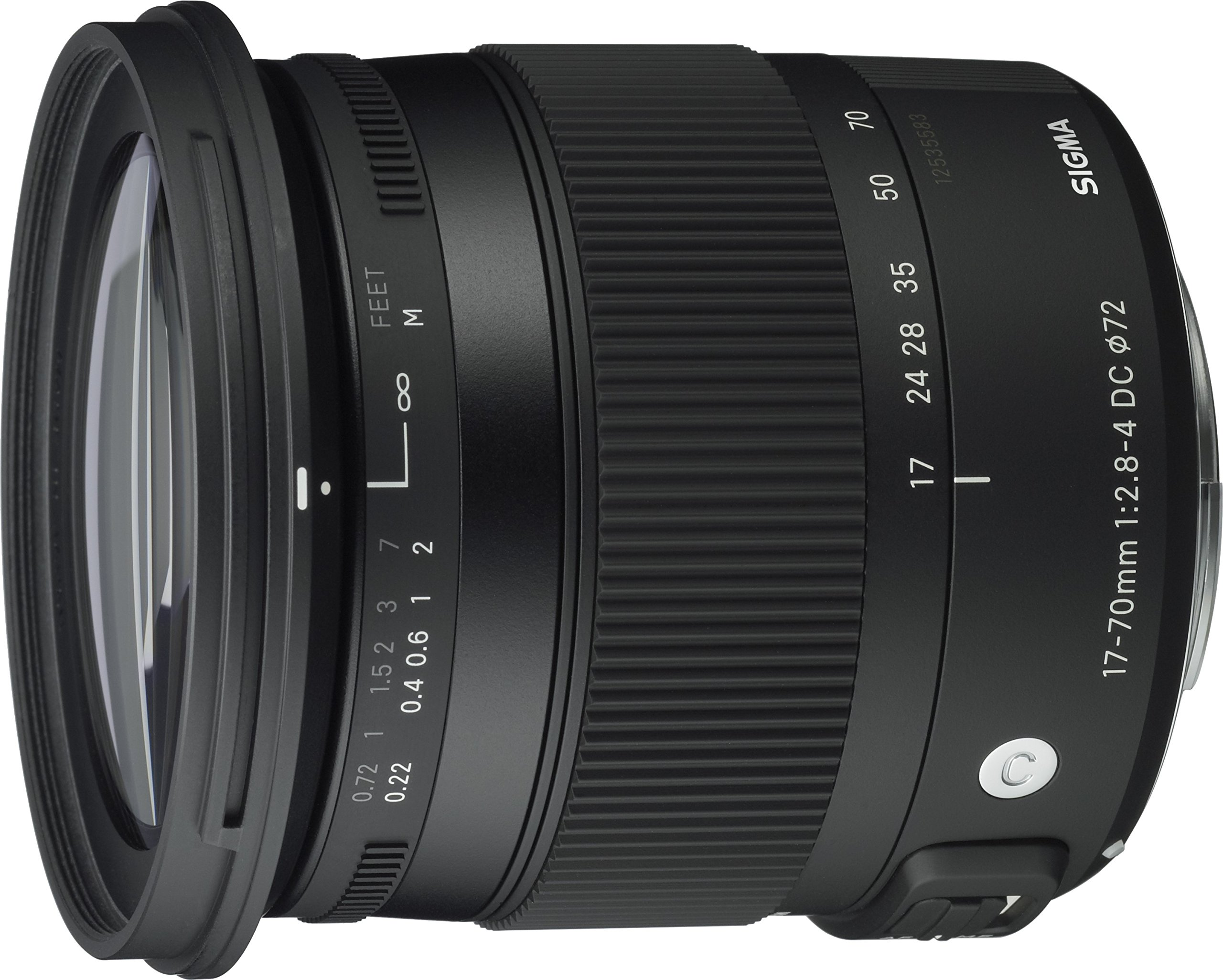 Sigma 17-70mm F2.8-4 Contemporary DC Macro OS HSM Lens for Nikon by Sigma